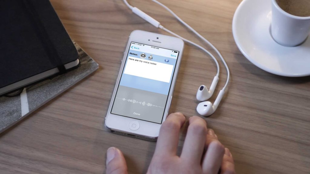 MOBILE – Voice-to-text