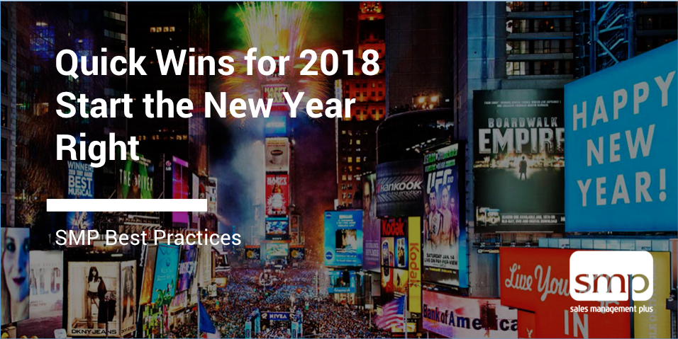 Start 2018 Off With Some Quick Wins