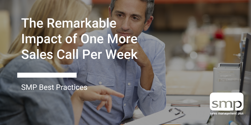 Blog Graphic – The Remarkable Impact Of One More Sales Call Per Week