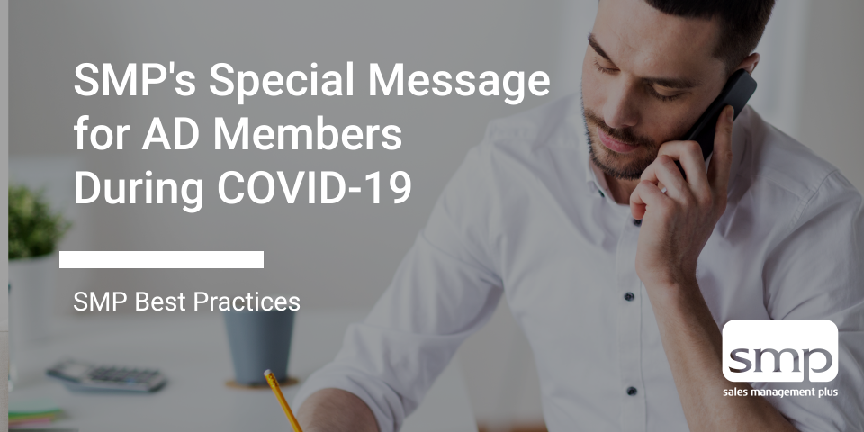 SMP's Special Message For AD Members During COVID 19
