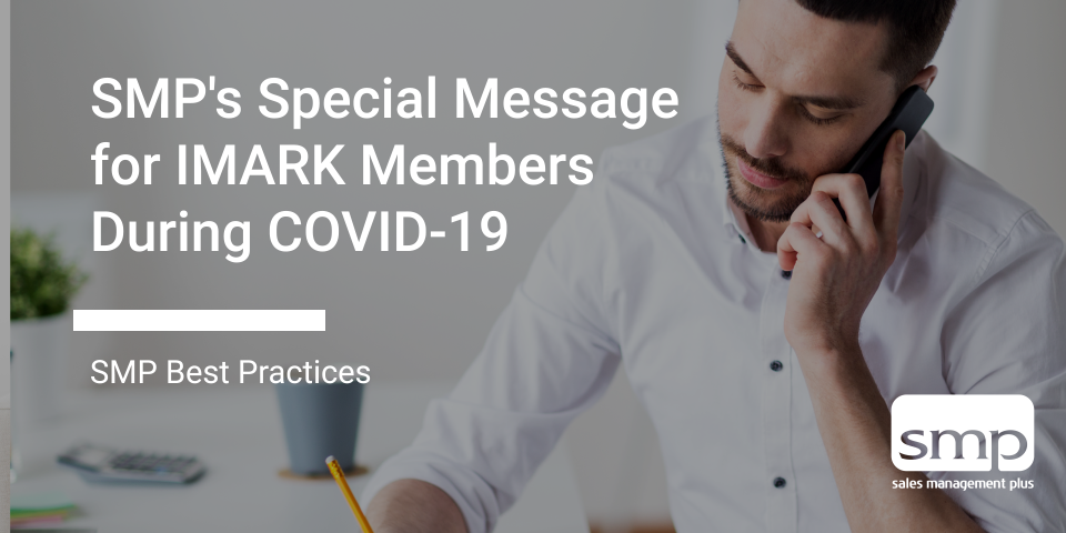 SMP's Special Message For IMARK Members During COVID 19