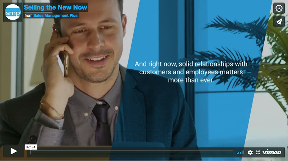 Video: Selling in the New Now