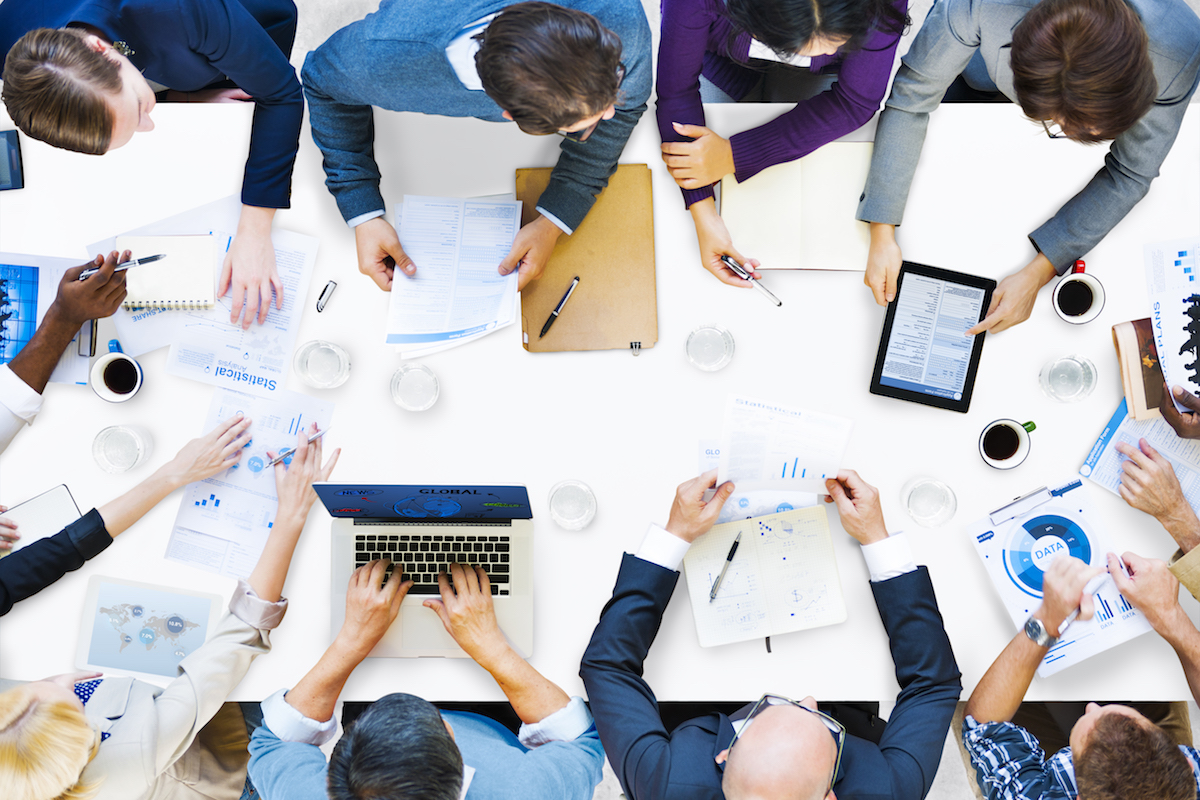 Diverse Business People on a Meeting